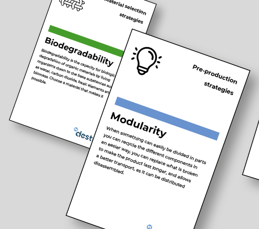 Card toolkit with innovative sustainability strategies